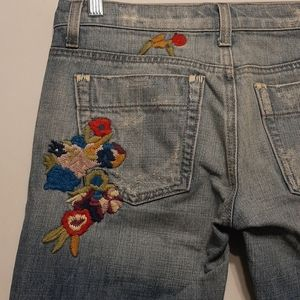 JOE'S JEANS VINTAGE SERIES 1971 EMBROIDERED JEANS